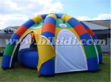 Durable Inflatable Rainbow Arch Dome Tent for Sale K5103