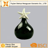 Cheap Ceramic Black Perfume Bottle