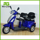 3-Wheels Stable Electric Trike Scooter with Two Seats