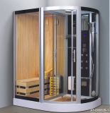 Twins Function Steam Combined Sauna with Shower (AT-D8852B-1)