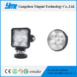 Square Round 15W LED Car Work Light with Ce
