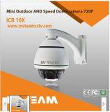 720p 1080P Outdoor IP66 Mini Speed Dome Camera Mvt Aho405