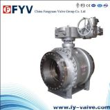 API Pipeline Gas industrial Trunnion Ball Valve