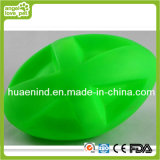 Dog Toy Rubber Olive Ball