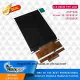 "2.4"" Wide Angle Spi 240X320 Ili9341V TFT LCD Screen"