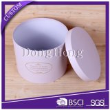 Cheap Price Cardboard Paper Round Flower Box Packaging with Lid
