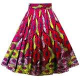 Wax Print Ankara African Clothes Women Long Maxi Skirts