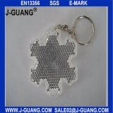 Plastic Material and Reflective Keychain Type Plastic (JG-T-03)