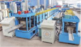 Full Automatic Adjustment Interchangeable C Z Purlin Roll Forming Machine