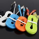 Five Colors Charger&Transfer Data Flat for iPhone USB Cable