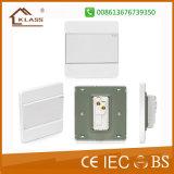 White PC BS Standard Single Gang 1 Way Switch