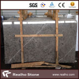 Polished Imported White Vein Sula Grey Marble Slabs for Wall/Floor