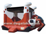Inflatable Dog Bouncy Castle, Jumping Bouncer