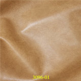 Hot Selling Embossed Imitation PU Shoe Leather for Footwear Industry