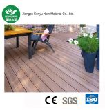 Outdoor WPC on-Line Embossing Wood Plastic Flooring with Ce