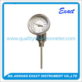 Industrial Adjustable Bimetal Thermometer with Thread Made in China