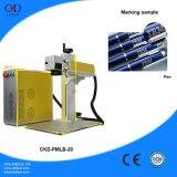 20W Fiber Laser Marking Machine for Printing Logo on Pen