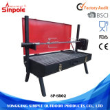 Mini Spit Roaster Charcoal BBQ Chicken Rotisserie Grill for Sale