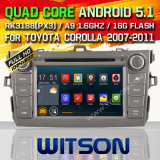 Witson Android 5.1 Car DVD for Toyota Corolla 2007-2011 (W2-F9116T)
