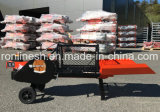 1 Phase/Single Phase 220V 1500 W/1.5kw Electric 8ton Horizontal Log Splitter/1-Phase Turbo Wood Splitter Ce