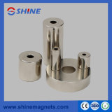 Sintered NdFeB Ring Magnet with Nickel Plated