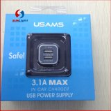 Usams Dual USB Car Charger for iPhone & Android