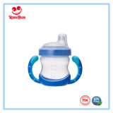 180ml Skidproof Plastic Mug with Silicone Soother