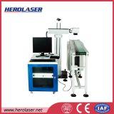 Production Line Automatic Optical Fiber Laser Marker for Marking Number Bar Code