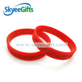 Hot Sale Concave Colorful Silicone Wristband