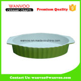 Simple Green Color Cheapest Nonstick Ceramic Baking Tray
