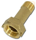 Brass Fitting Water Meter Coupling (KX-BF014)