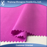 Woven Soft 150d Polyester Spandex Elastane 4 Way Stretch Garment Sportswear Fabric