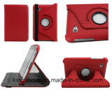 to Rotate 360 Degrees for Samsung 7′′ P6200 Red Litchi PU Cover (KCI28)