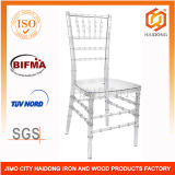 Crystal Polycarbonate Lucite Resin Chiavari Chair in Clear