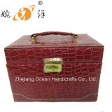 Leather Jewelry Cases Cosmetic Cases (XZ-001)