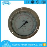 6 Inch 150mm Panel Mounted Stainless Steel Pressure Gauge