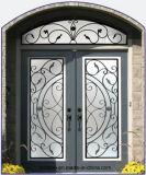 Best Selling Wrought Iron Glass Door