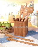 Bamboo Kitchen Utensil Tools Set (HB-713)
