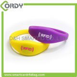 125kHz TK4100 RFID silicone wristband for event swimming pool