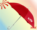 23inch Auto Open Silver Coated Advertisement Umbrella