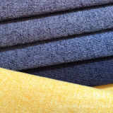 Linen-Like Home Textile Fabric 100% Polyester Yarn for Sofa