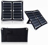 10W Sunpower Folding Solar Panel for Charging Mobile Phone