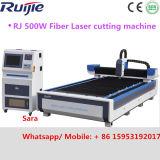High Power Jinan Ruijie 500W Fast Professional Iron Sheet Fiber Laser Cutting Machine