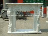 High Quality Popular Natural Stone Marble Fireplace (SY-MF141)