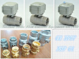 1′′ 304 Stainless Steel Electric Actuator Motorized Valve for for Water Treatment (T25-S2-B)