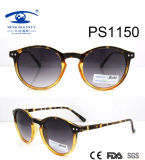 Round Shape Plastic Sunglasses (PS1150)