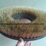 Brass Wire Round Road Sweeper Brush (YY-035)