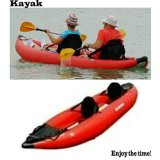 2015 Well Designs Kayak 4m Red Color Sk Series PVC Material Inflatable Boat for Fishing with CE China