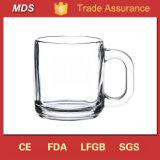 Best Sale Warm Clear Borosilicate Glass Mug with Handle