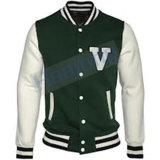 Healong Dye Sublimation Plain Baseball Jacket